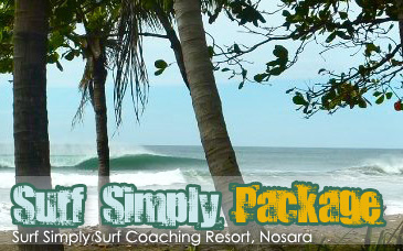 Surf Simply Coaching Resort Nosara Costa Rica