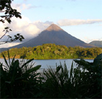 Arenal Volcano and Lake